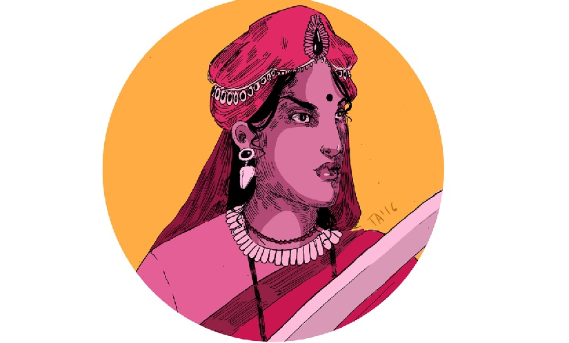 Tara Anand's illustrated series shines a spotlight on forgotten powerful female Indian warriors