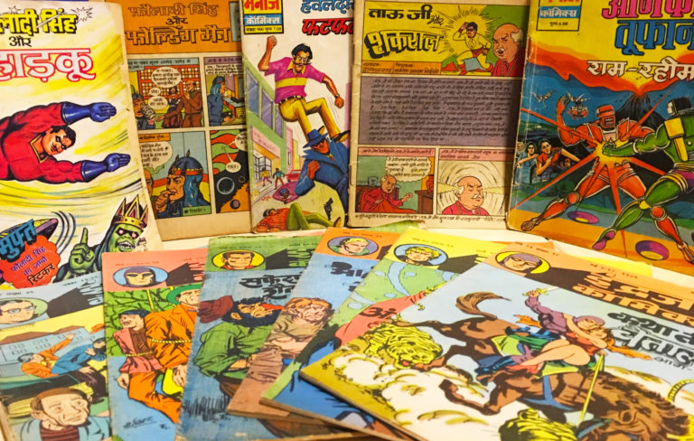7 popular Indian comics which we all read during childhood